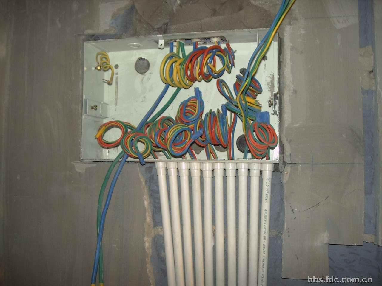 家装电工设计图纸