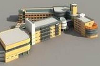 苏州城市规划模型