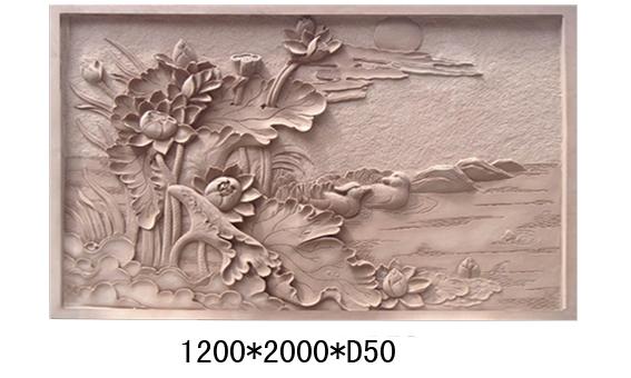 广州仿砂岩花钵