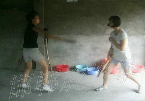 女子防身术擒拿格斗