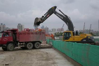 上海浦东土方回填