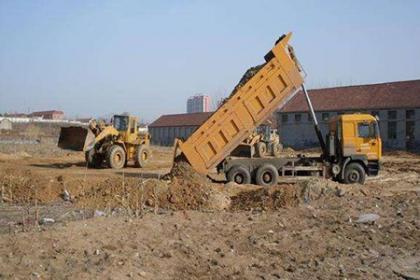 长期接渣土清运