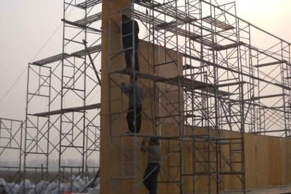 专业施工队伍,保证安全,北京桁架背景制作