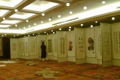 北京八棱柱标摊租赁,费用低