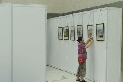 北京标准挂画展板销售摄影展板销售