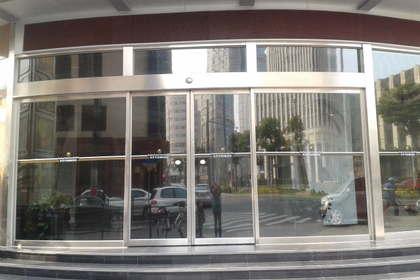 上海电动手推旋转门