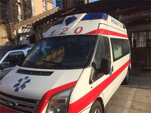 北海长途救护车租用
