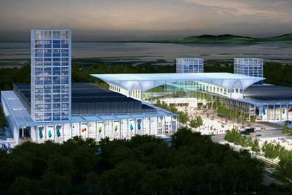 青岛红岛国际会展中心开建, 效果图震撼发布