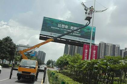 广州路灯维修车出租