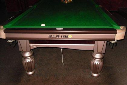 武汉二手台球桌出售