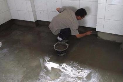 成都防水堵漏施工