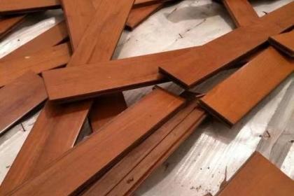 杭州实木地板回收