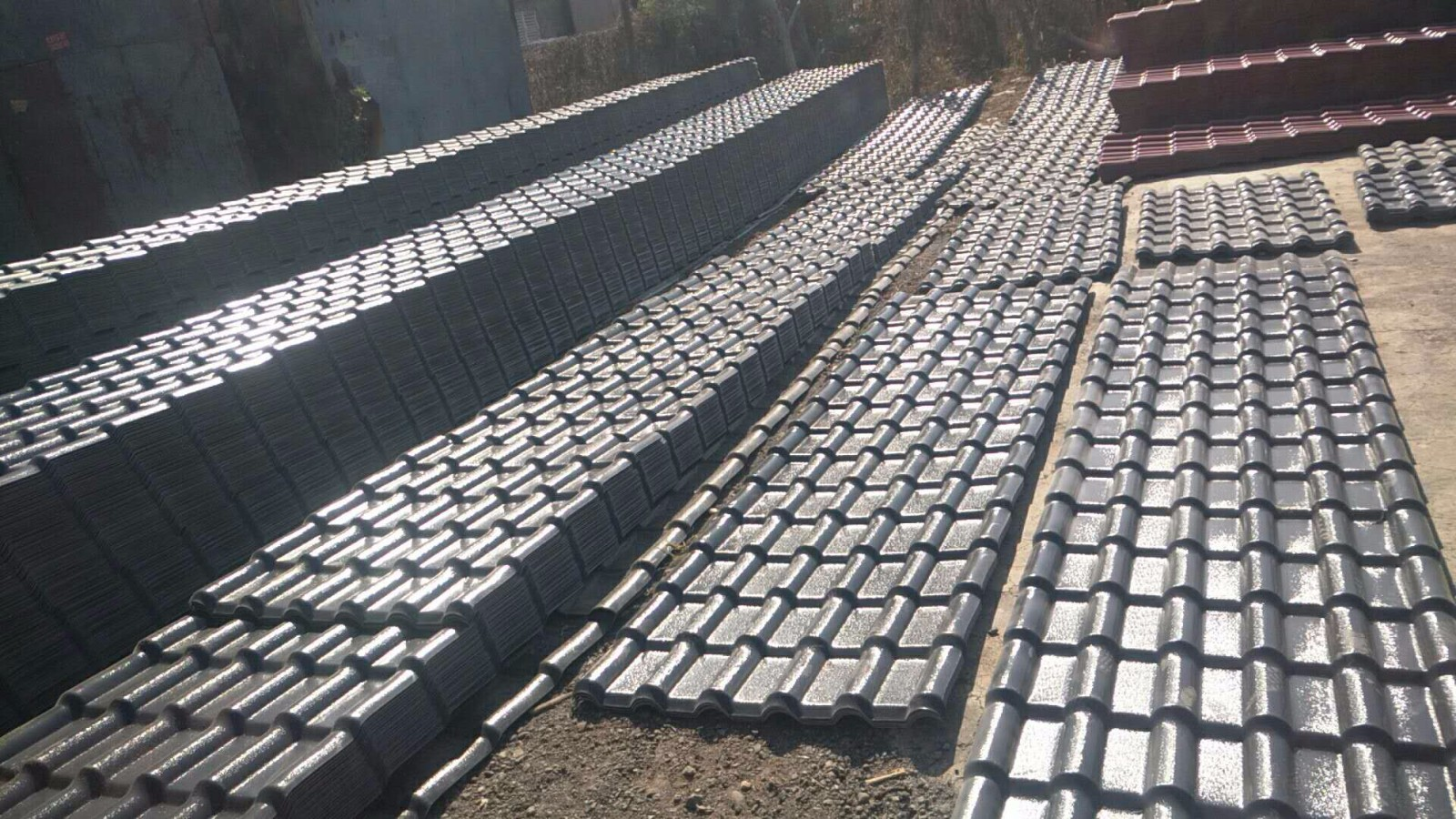 北京树脂瓦批发供应