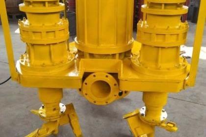 挖机泥浆泵挖机渣浆泵液压沙浆泵耐磨泥浆泵潜水清淤泵