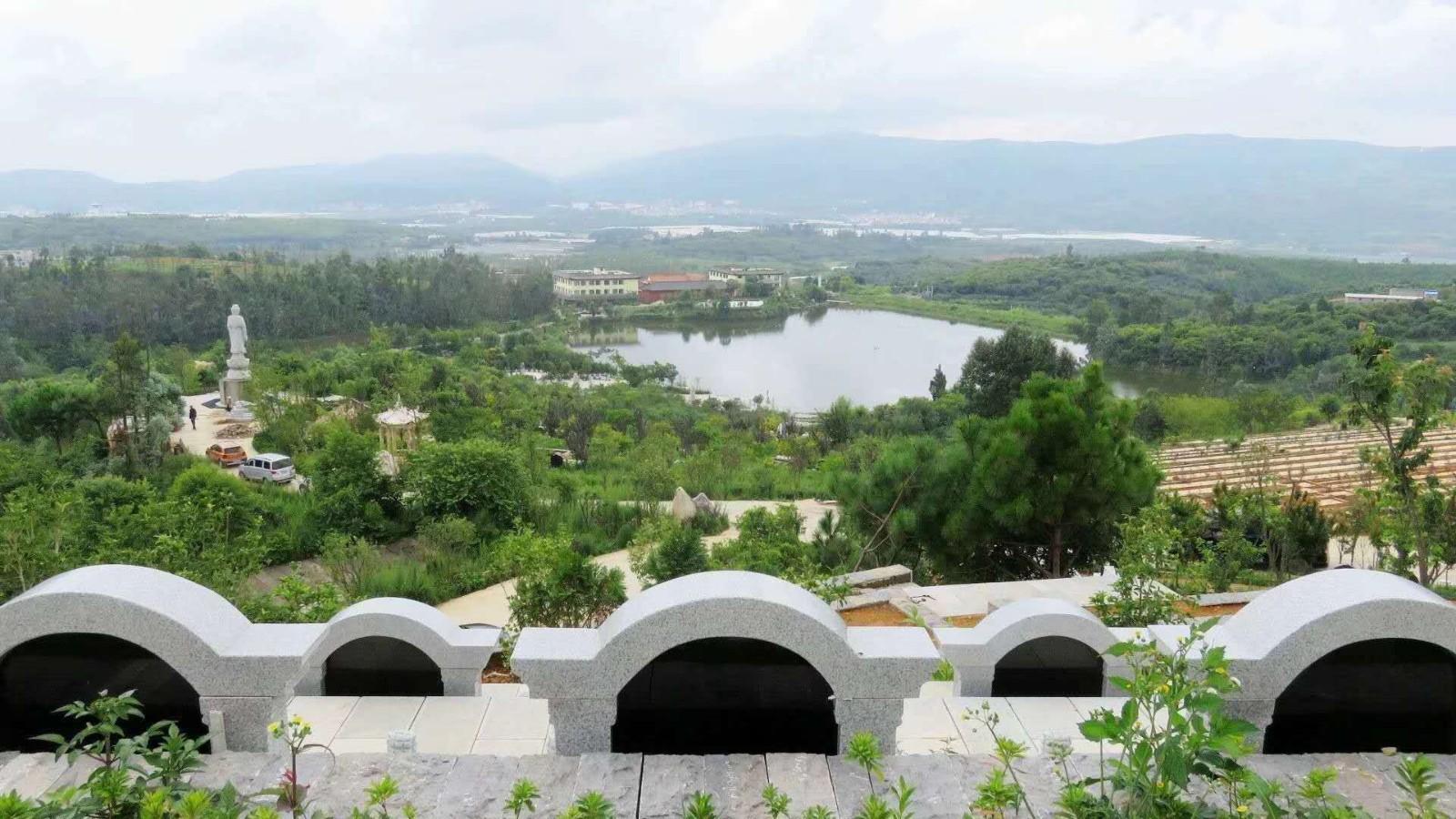 郑州城市墓地平面图