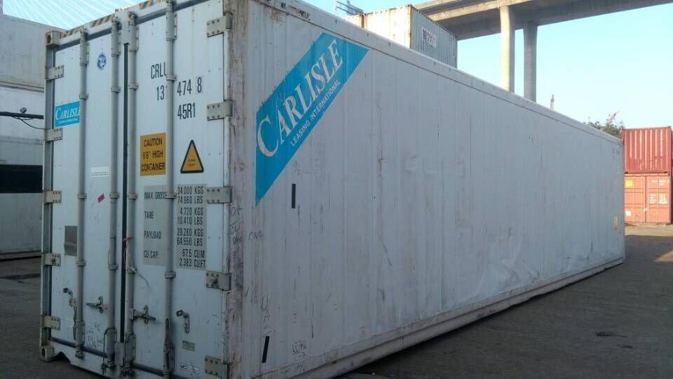 专业出售二手冷藏(冷柜)集装箱,可零售可批发.