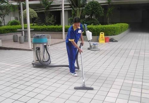 物业区域保洁或清洁的范围包括哪里?