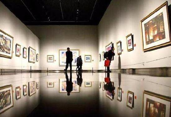 美术馆里的画值得买吗
