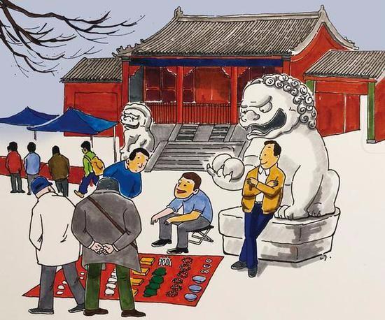报国寺收藏市场明年关闭 让其回归文物属性