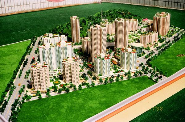 居住建筑模型/总体规划模型/小区建筑模型制作