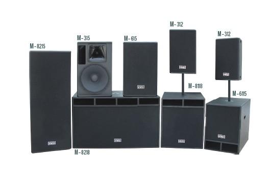 专业舞台音响器材包括:调音台;功放调音台;便携式调音台;功率放大器