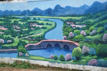 深圳手绘壁画