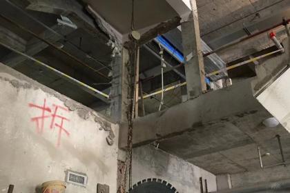 广州花都楼板切割拆除工程
