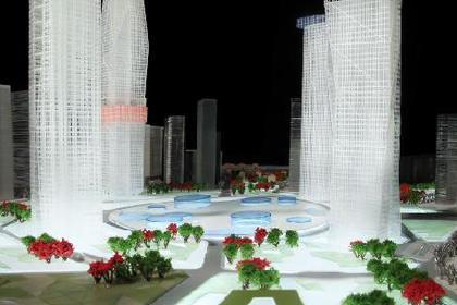 兰州建筑沙盘模型公司