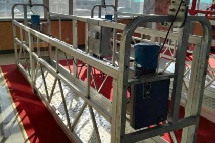 施工中热镀锌吊篮内载量应尽量保存均匀