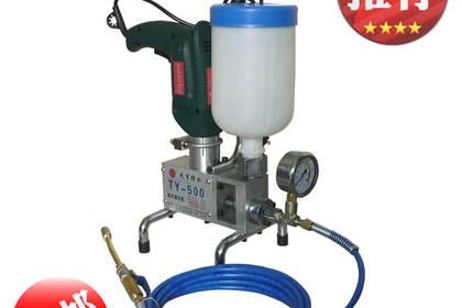 生产销售天宇牌高压灌浆防水堵漏材料与设备系列产品高压灌浆机