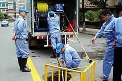 广州高压清洗管道