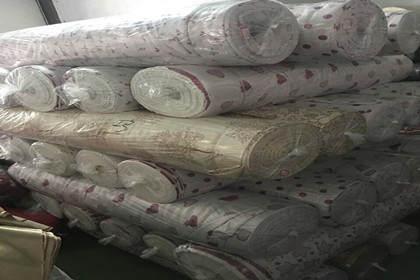 库存装饰布料回收