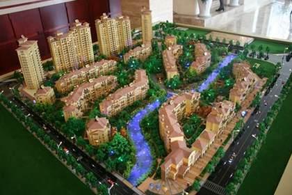 兰州地产模型