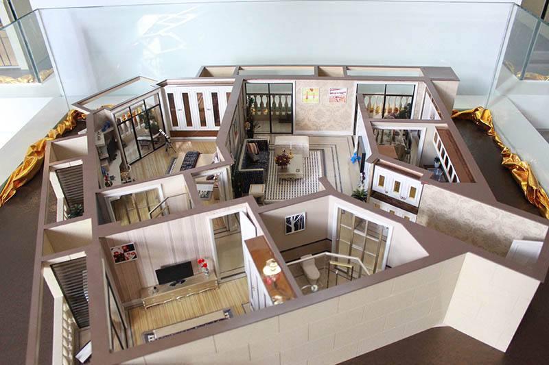 洛阳室内剖面模型
