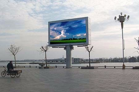 济南小区灯箱广告