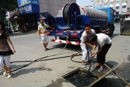 苏州高压清洗化粪池