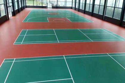 兴安盟硅PU球场施工