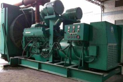 二手发电机回收,废旧发电机组回收