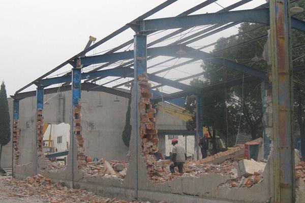 2,排架结构厂房拆除 3,框架结构厂房拆除 4,砖混结构厂房拆除 5,钢铁