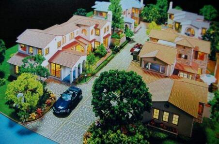 赤峰规划沙盘模型