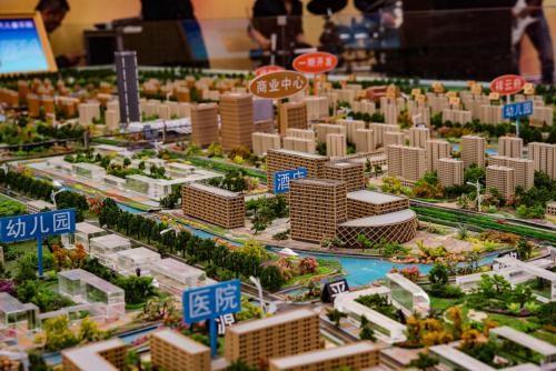 赤峰城市规划模型