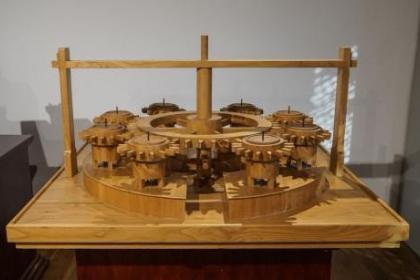 赤峰工业机械模型