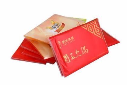 武汉广告盒抽纸定做