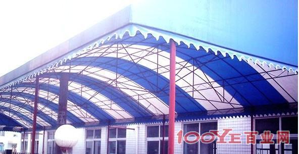 钢结构pvc大棚 pvc停车棚 雨棚