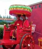 专业制造,武汉婚庆大花轿制作,售后周到