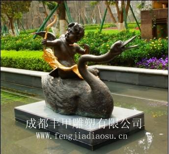 成都房地产小品雕塑铸铜雕塑