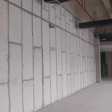 植物纤维隔墙板安装