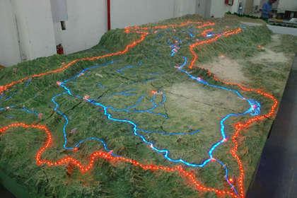 北京房地产沙盘模型设