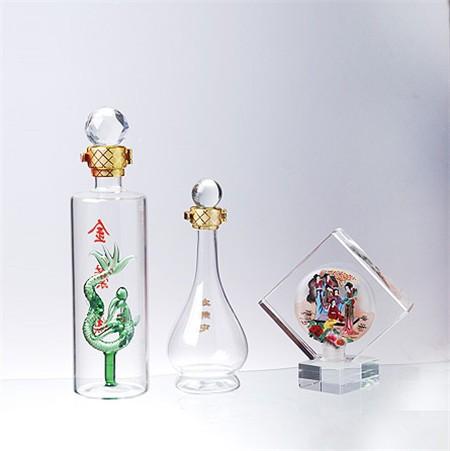 河间动物造型酒瓶制作