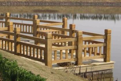 仿木栏杆的水泥特性